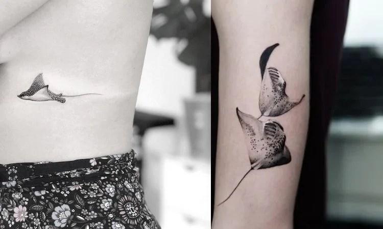 tatuagens de arraia