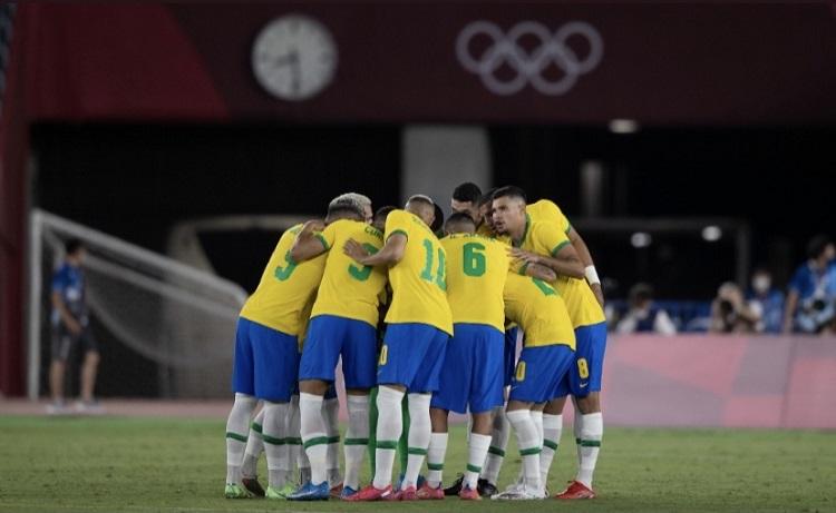 Foto da seleção brasileira