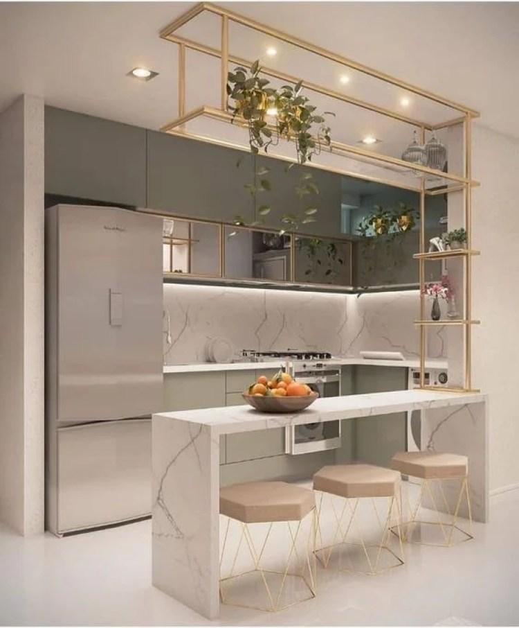 Cozinha moderna.
