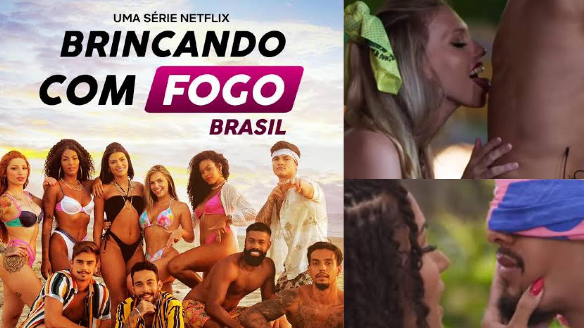 Brincando com Fogo Brasil estreia dia 21 de julho na Netflix. Fonte: Montagem/ Fashion Bubbles