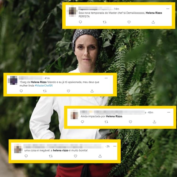 Foto com comentários do Twitter.