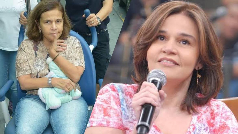 Claudia Rodrigues ficou famosa após interpretar a protagonista da serie A Diarista na Globo (montagem: Fashion Bubbles)