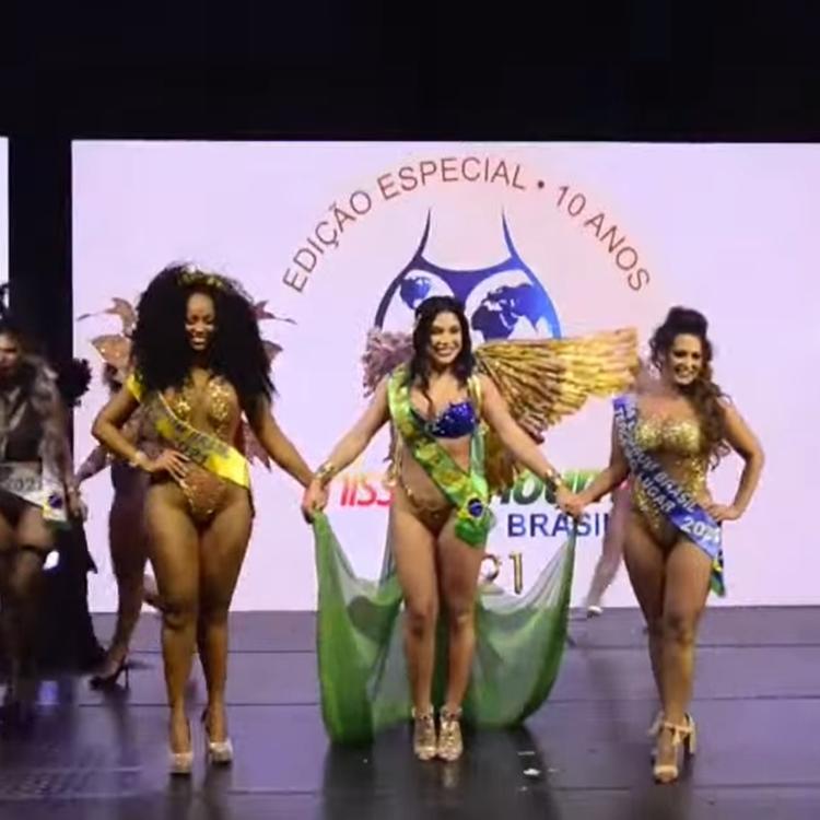 Foto das vencedoras do Miss Bumbum 2021.