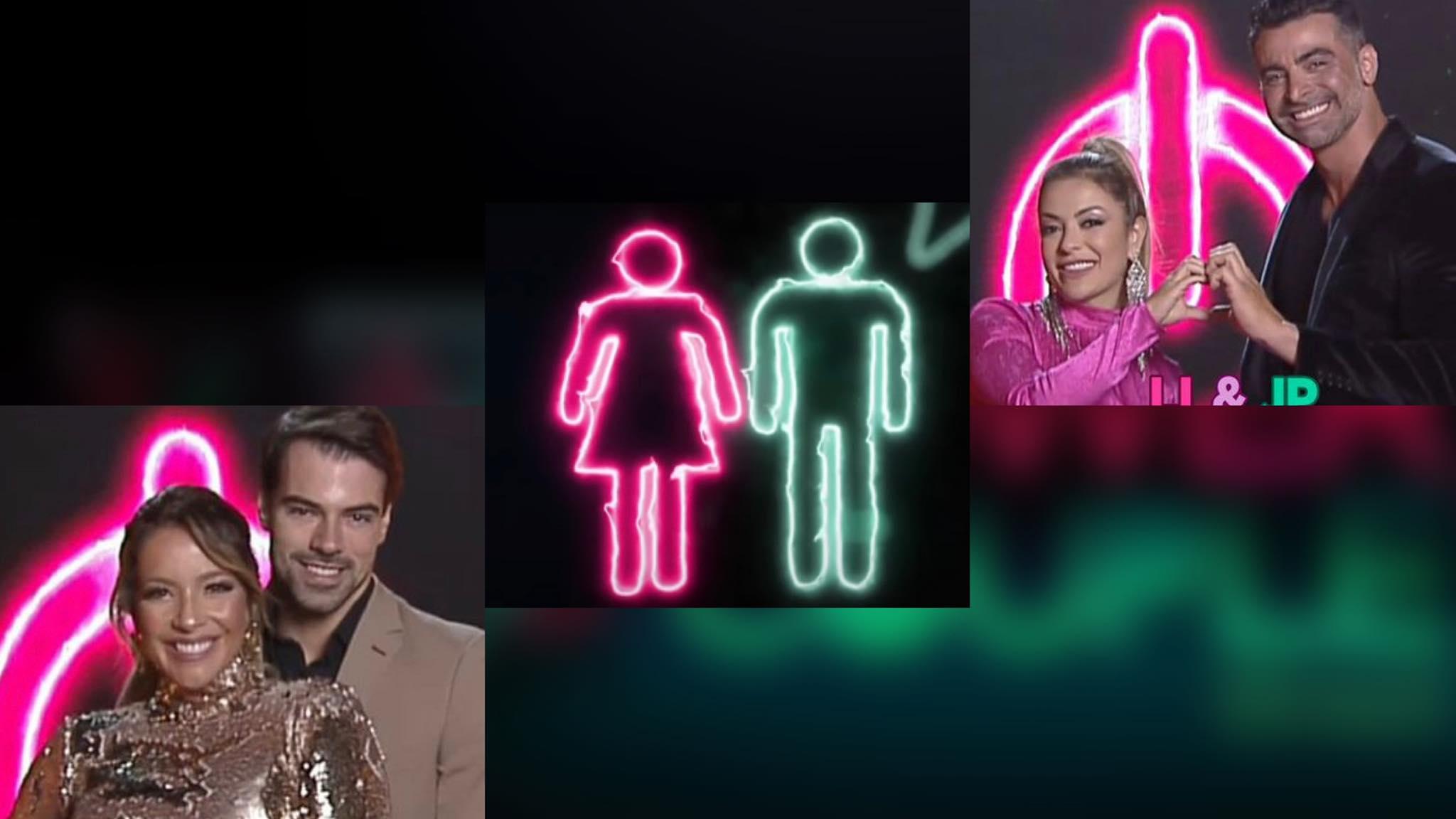 Li Martins & JP e Renata & Leandro estão na 10ª DR do Power Couple. Imagem: Montagem/ Fashion Bubbles