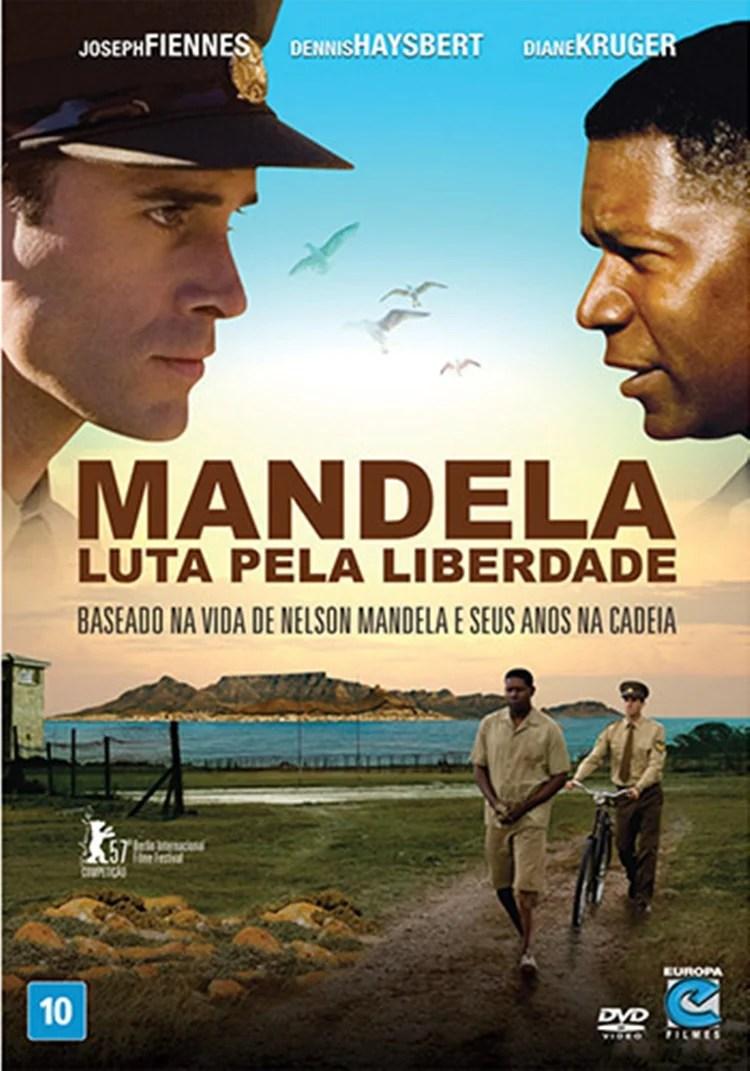 """Foto da capa do filme """"Mandela – Luta Pela Liberdade""""."""