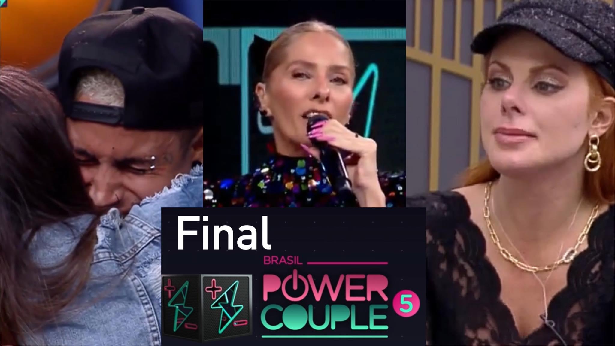 Adriane Galisteu anuncia grandes surpresas na final do Power Couple. Fonte: Montagem/Fashion Bubbles