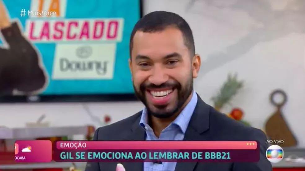 Gil do Vigor estreia quadro no Mais Você (imagem: reprodução)