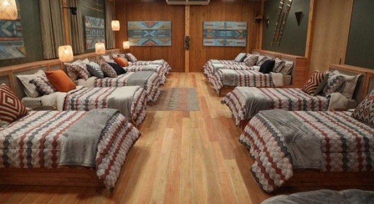 Dormitórios do Ilha Record.