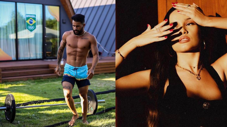 Juliette Freire destaca beleza dos atletas olímpicos e Ítalo Ferreira lembra que está solteiro. Fonte: Montagem/ Fashion Bubbles