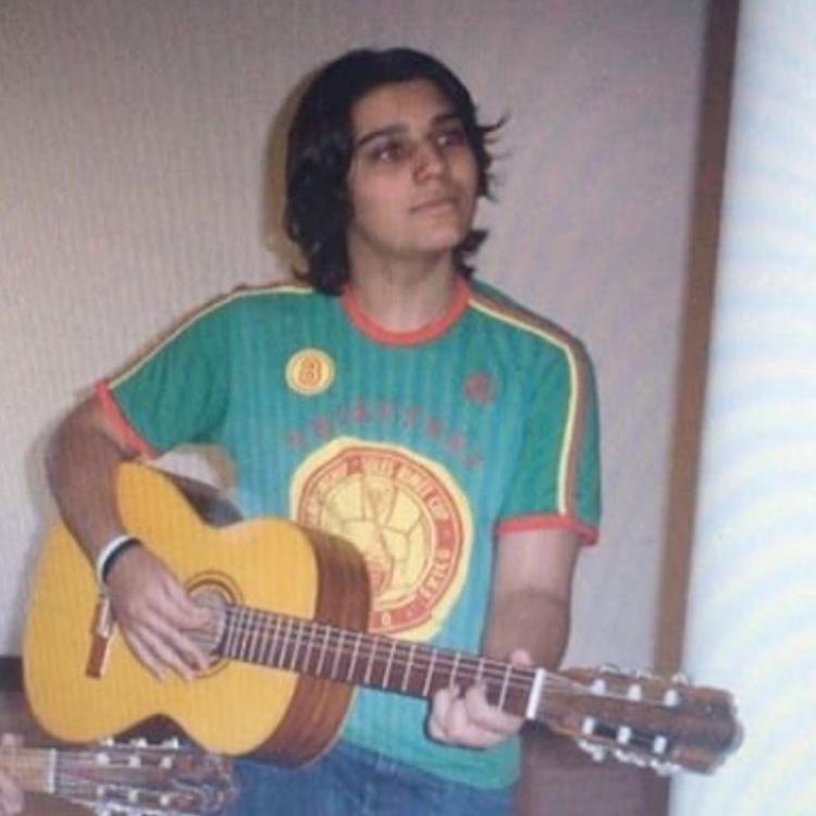 Foto do sertanejo mais jovem.