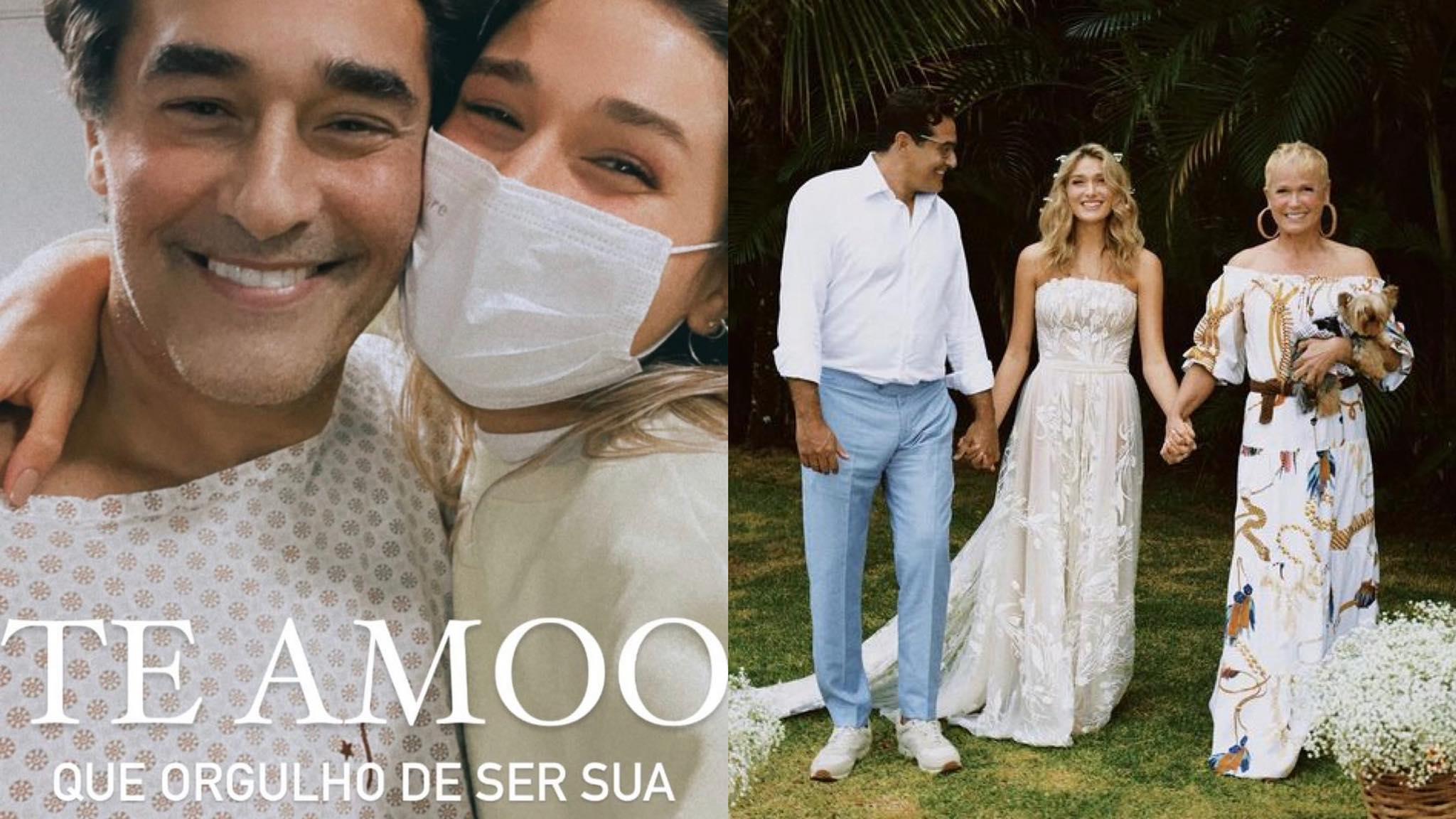 Luciano Szafir apresenta melhora, sai da UTI e recebe homenagem da filha, Sasha. Fonte: Instagram