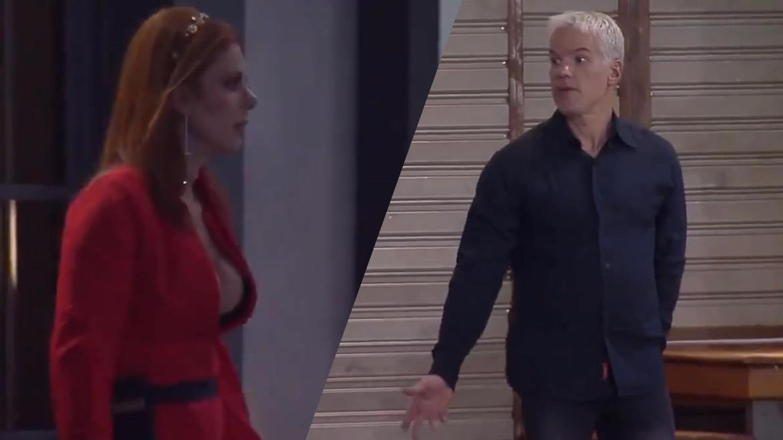 Bruno Fica irritado com Deborah no Power Couple (montagem: Fashion Bubbles)
