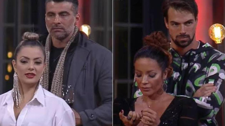 Li Martins e JP prejudicam Renata e Leandro no Jogo da Discórdia (Imagem: reprodução)