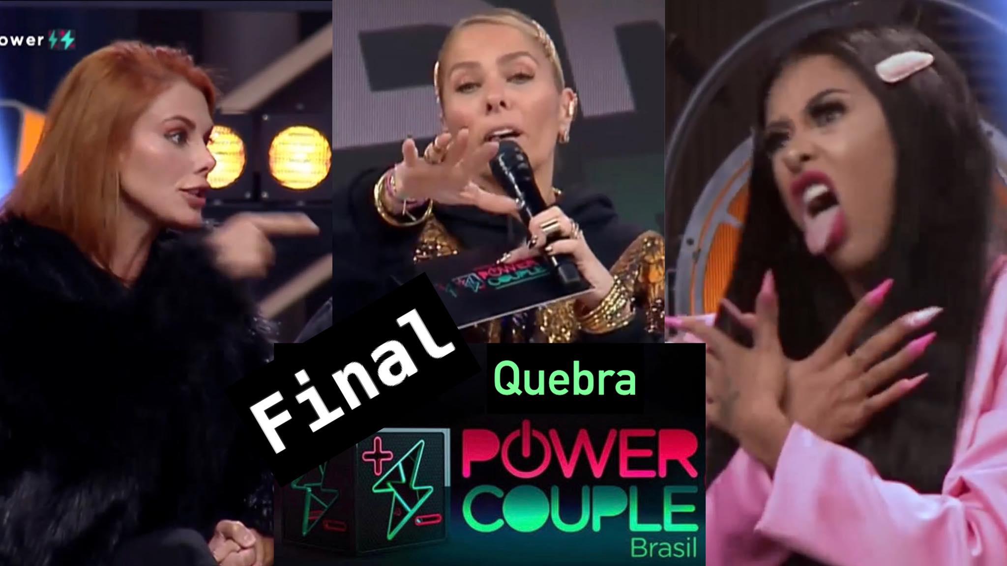 Adriane Galisteu teve que controlar 26 participantes novamente no Power Couple. Fonte: Montagem/Fashion Bubbles