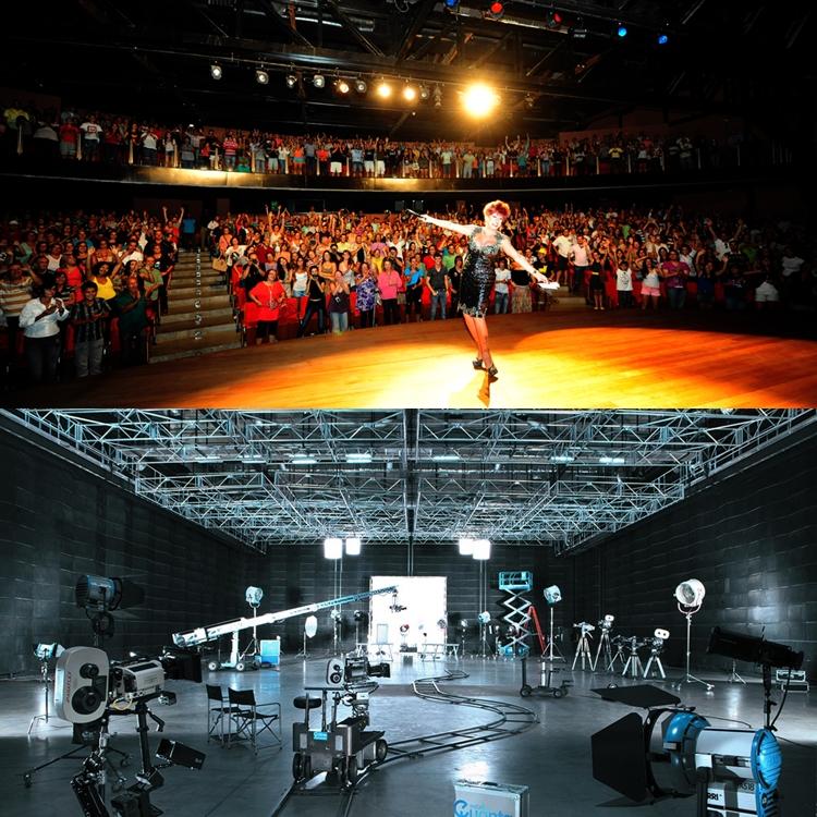 Foto do Teatro Gazeta e estúdio Quanta.