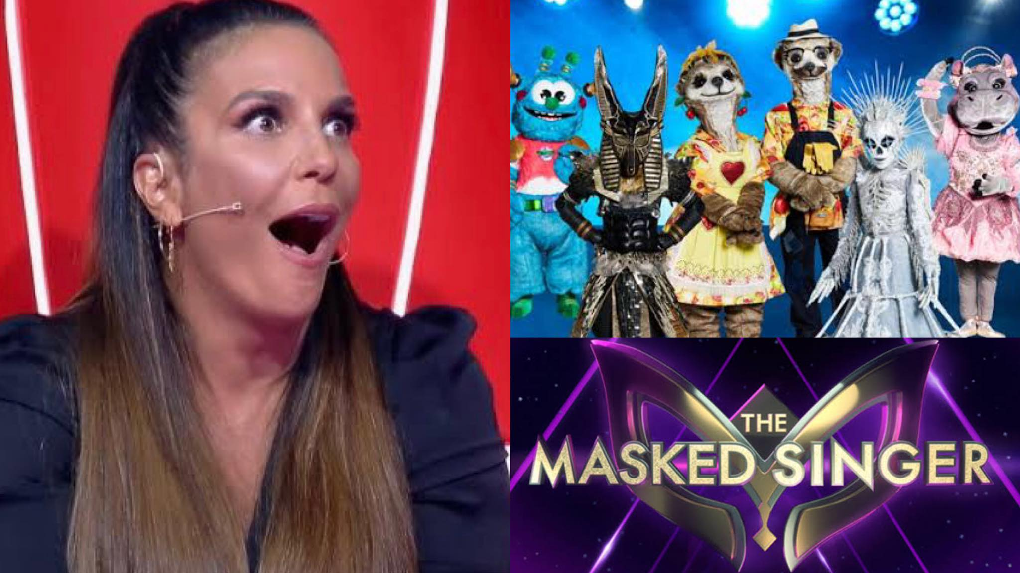 The Masked Singer Brasil será apresentado por Ivete Sangalo estreia no dia 10 de agosto. Fonte: Montagem/ Fashion Bubbles