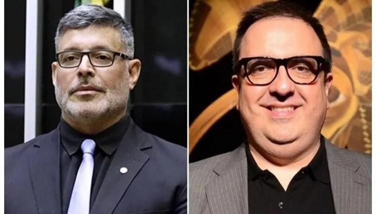 Alexandre Frota e Rodrigo Carelli