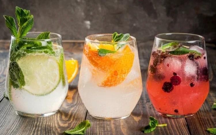 Os 3 drinks com gin