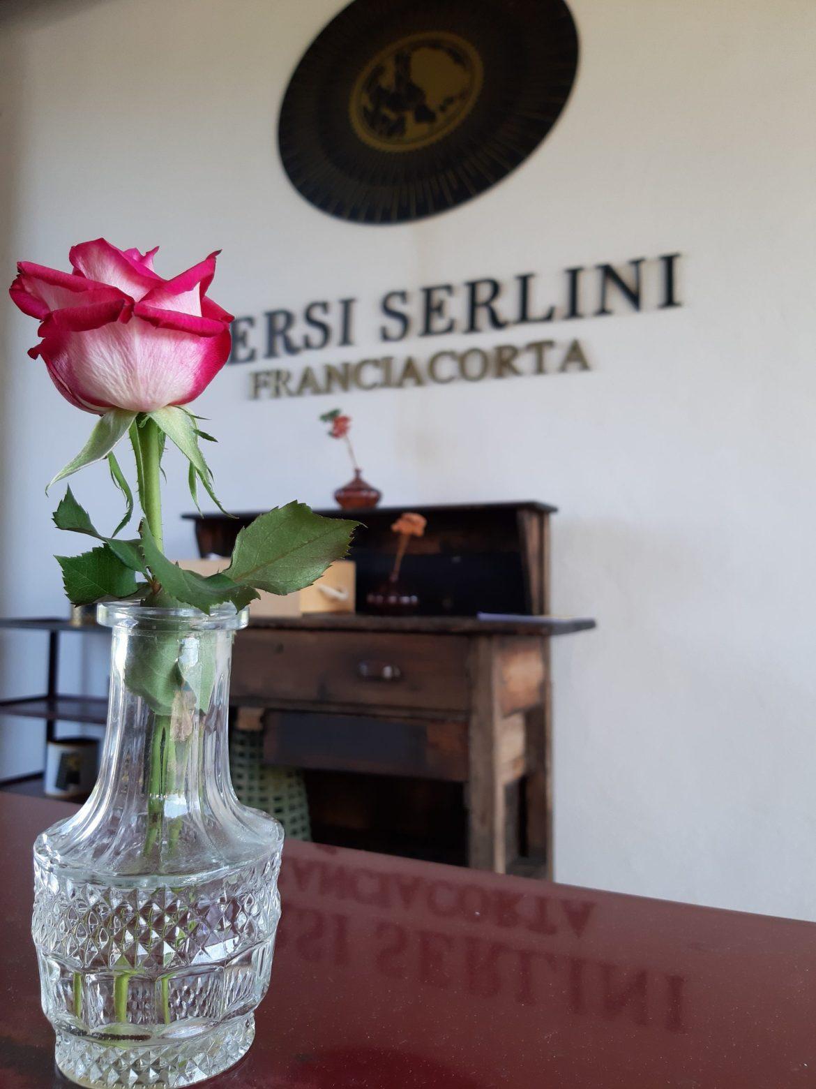 Entrada da vinícola Bersi Serlini.