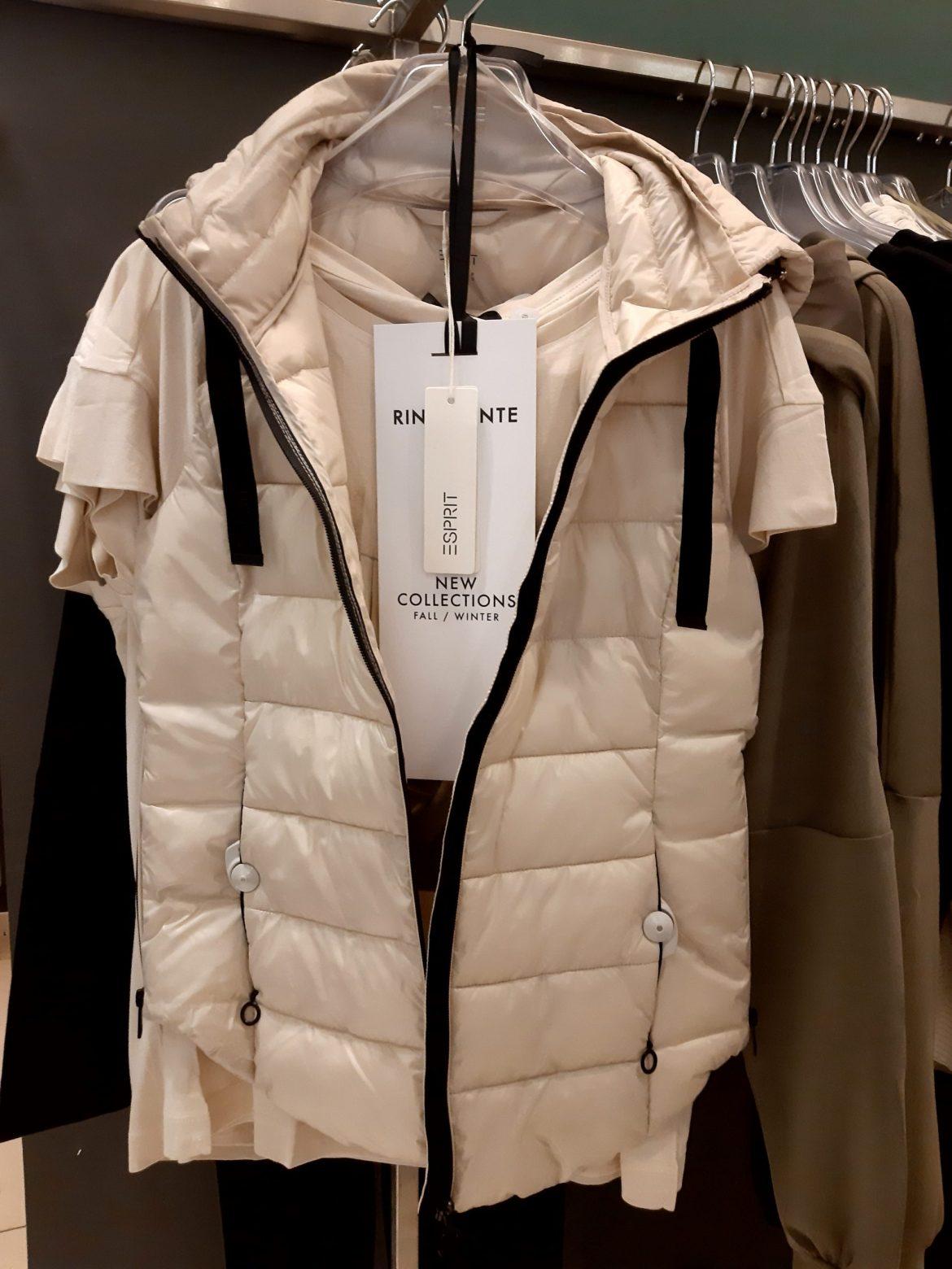 Colete da marca Sprit na La Rinascente, nova coleção outono inverno 22-23