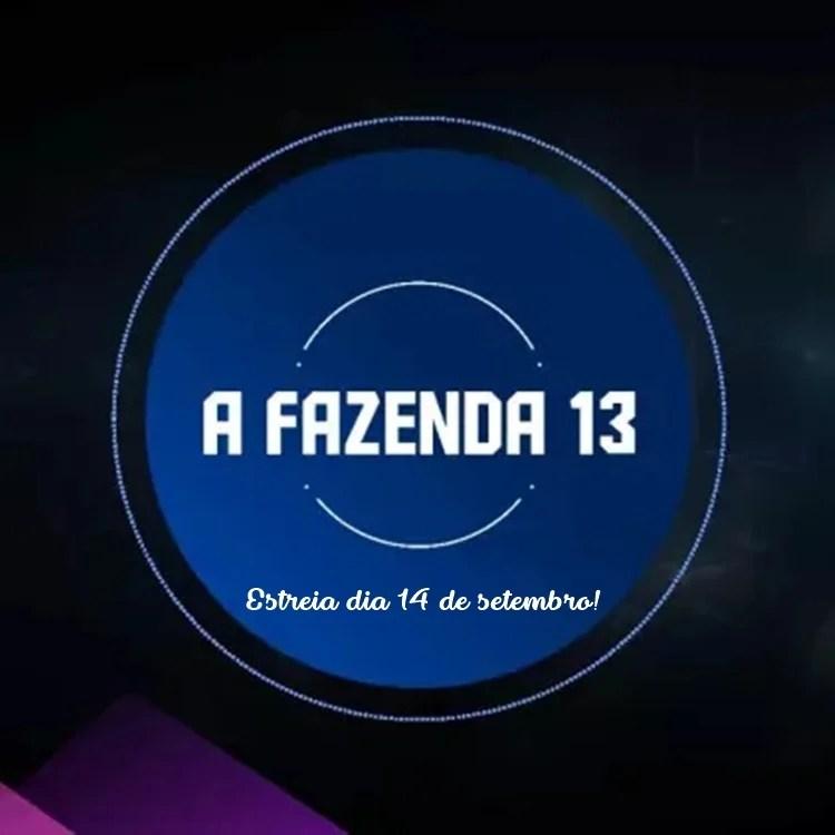 Foto da logo de A Fazenda 2021.