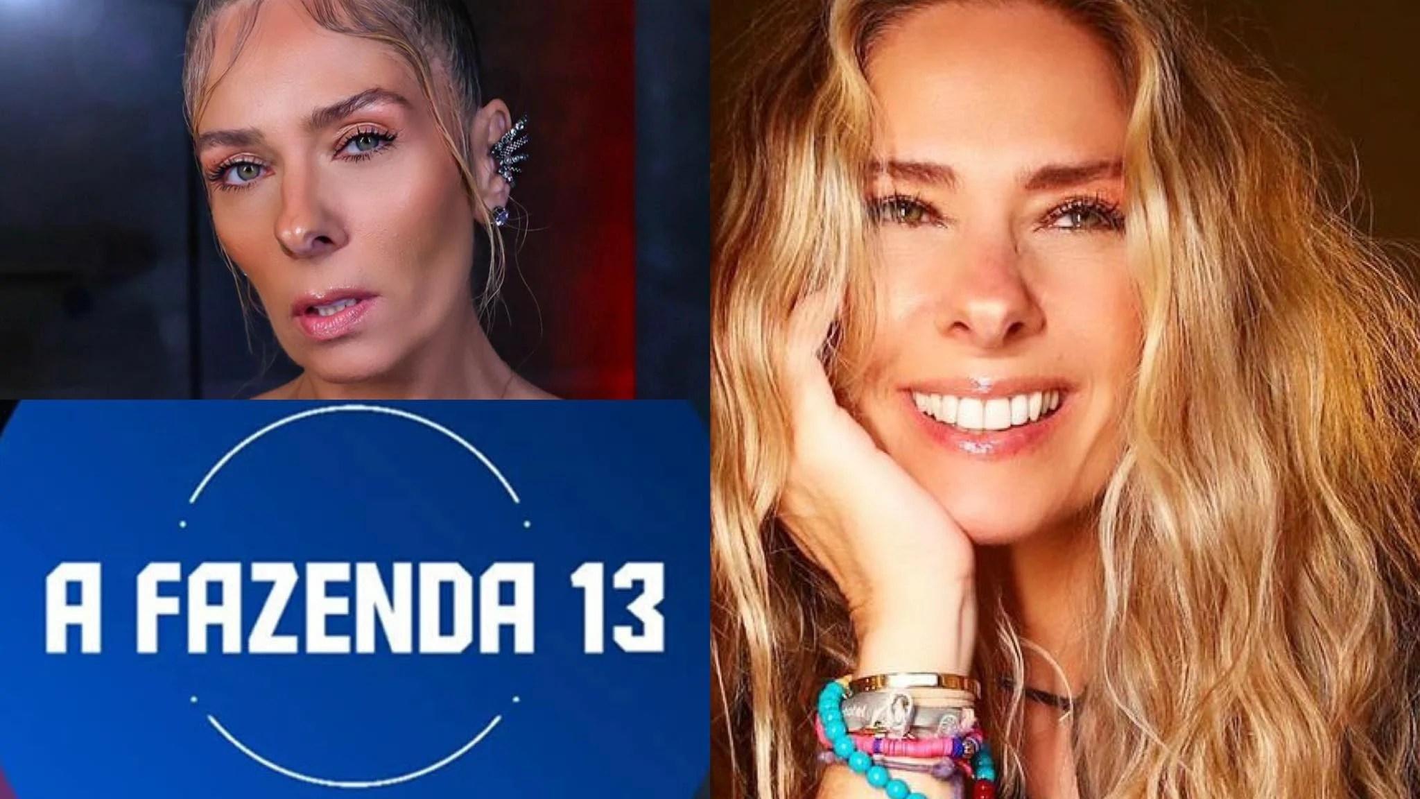 """Adriane Galisteu terá cachê """"digno de estrela"""" para apresentar A Fazenda 13. Fonte: Montagem/ Fashion Bubbles"""