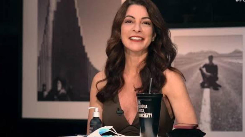 """Ana Paula contou uma história inusitada sobre um """"vibrador"""" alheio. Fonte: Divulgação"""
