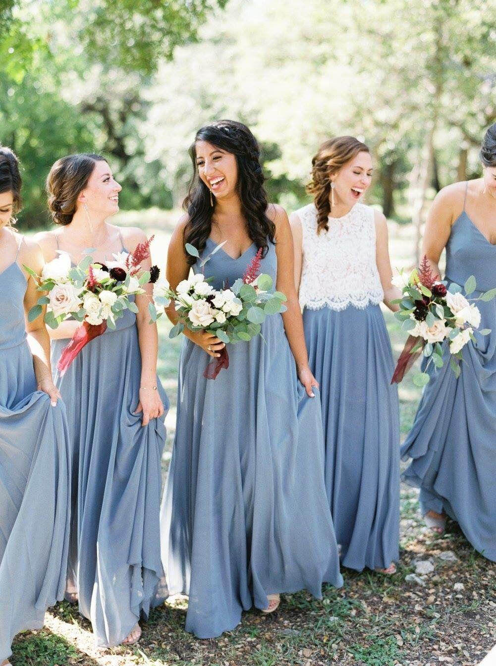 vestido azul serenity