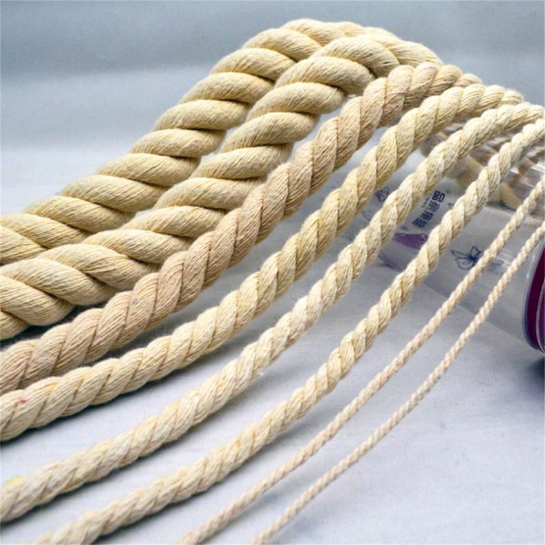 Vários tipos de corda.