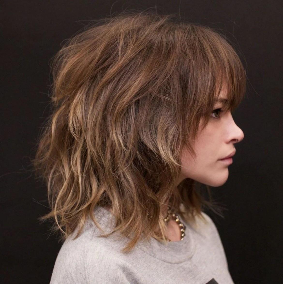 cabelo em camadas repicado