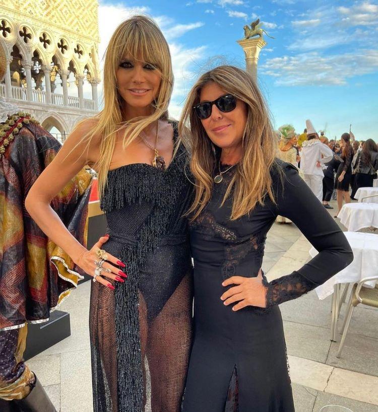 Heidi Klum e Nina Garcia