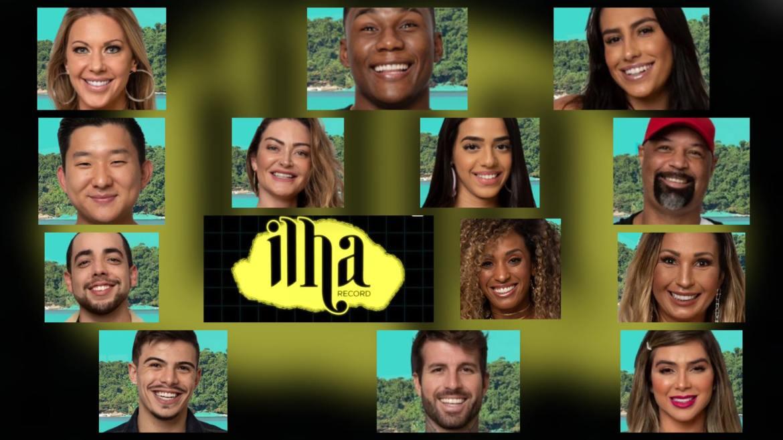 A Enquete Ilha Record quer saber: qual participante mais odiado do programa. Fonte: Montagem/ Fashion Bubbles