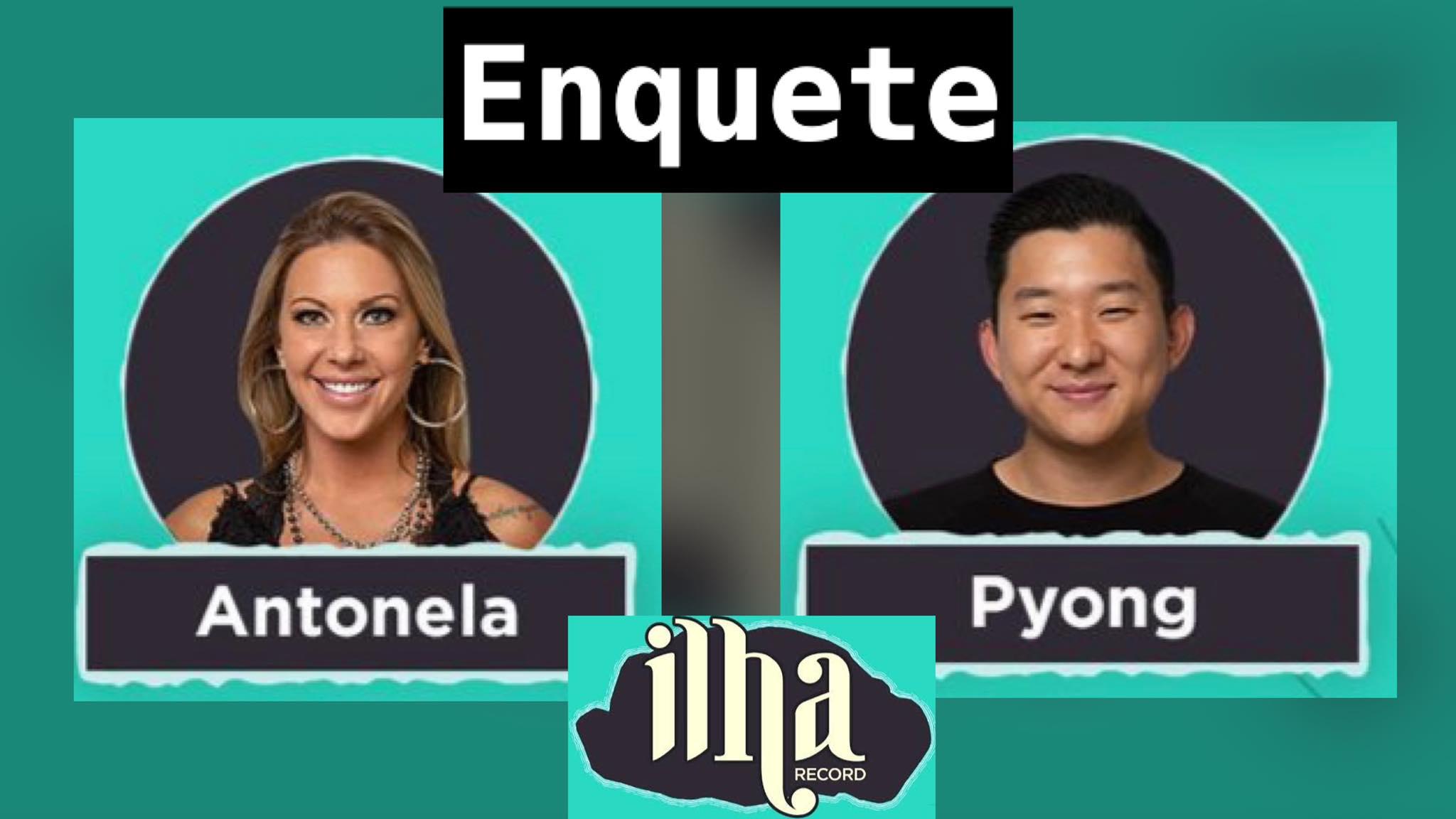 Antonela e Pyong estão no desafio de sobrevivência dessa semana. Dessa forma, vote em nossa enquete e registre sua opinião. Fonte: Montagem/Fashion Bubbles