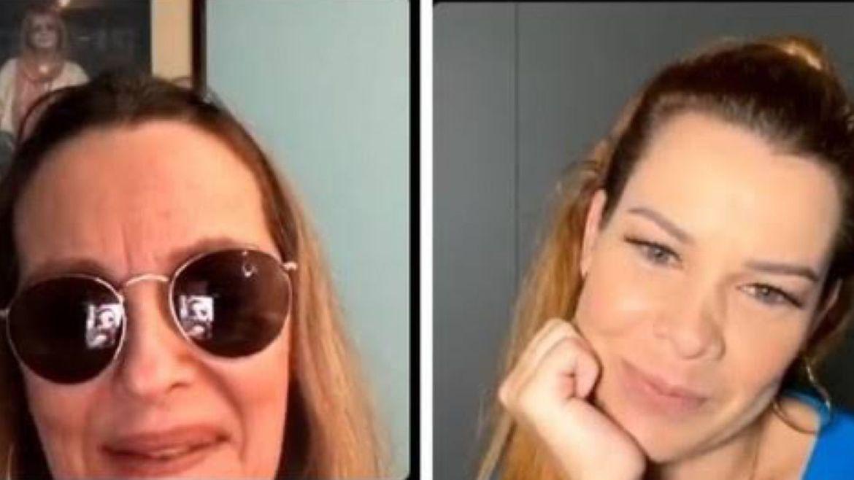 Fernanda Souza foi entrevistada por Maria Zilda no Instagram. Fonte: Reprodução
