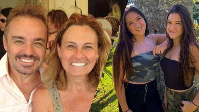 Aparecida Liberato tem a tutela da parte da herança deixada por Gugu para as filhas , Marina e Sofia. Montagem: Fashion Bubbles