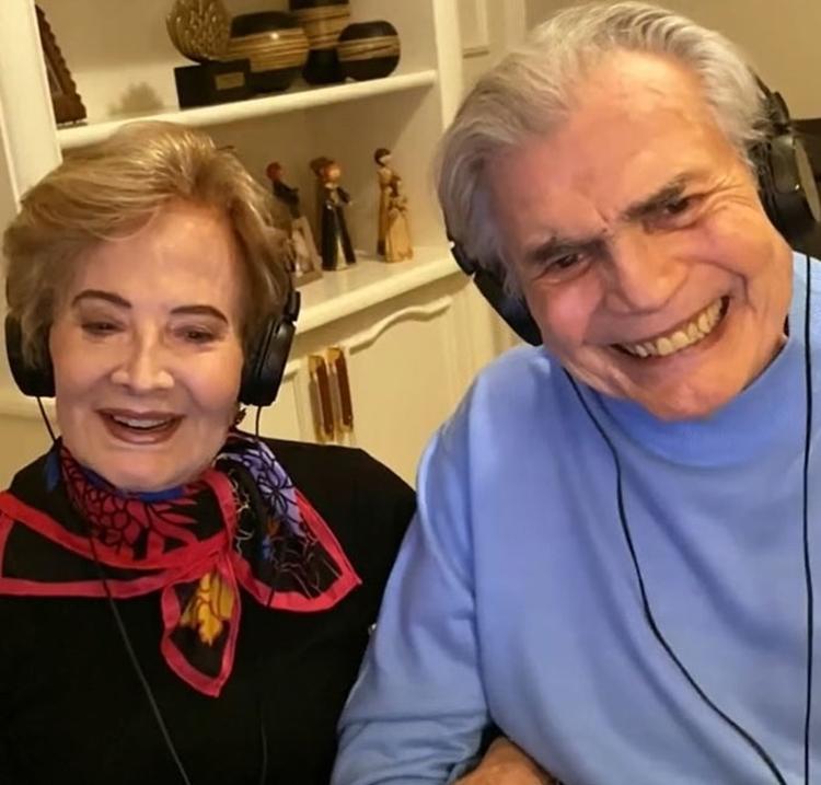 Foto de Glória Menezes e Tarcísio Meira.