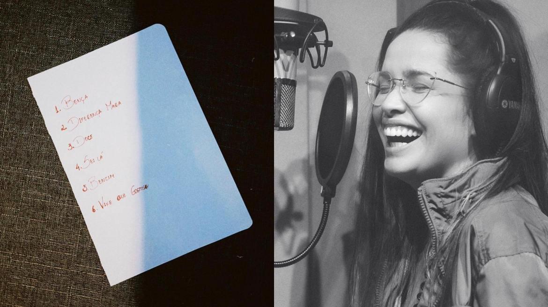 Juliette Freire publica (possíveis) nomes das faixas de seu EP. Fonte: Montagem: Fashion Bubbles