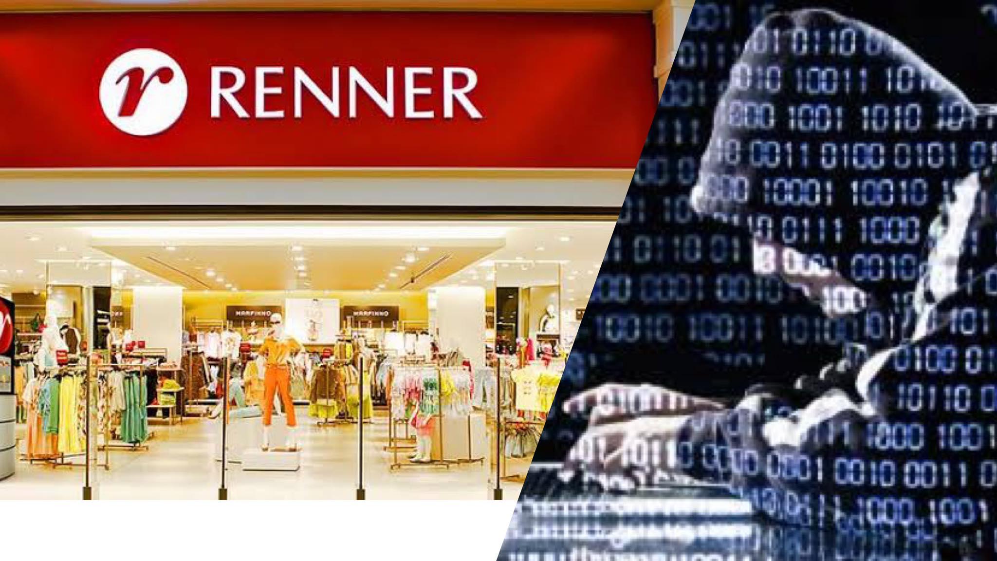 Lojas Renner tem site invadido e sai do ar. Fonte: Montagem/ Fashion Bubbles