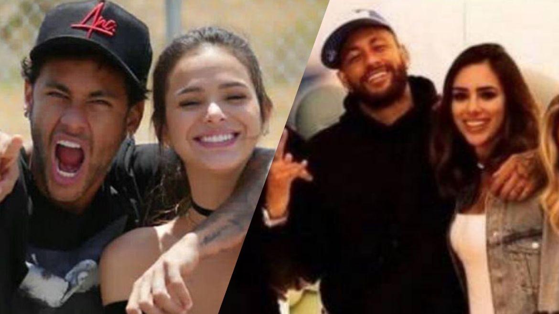 Marquezine e Neymar ficaram juntos por seis anos. Agora o craque está conhecendo melhor, a influencer Bruna Biancardi. Fonte: Instagram