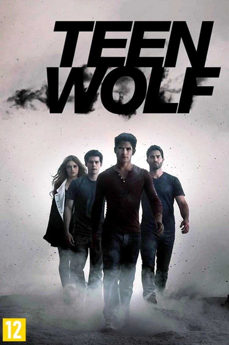 """Foto do cartaz de """"Teen Wolf"""", tops séries e filmes com seres místicos da Netflix."""