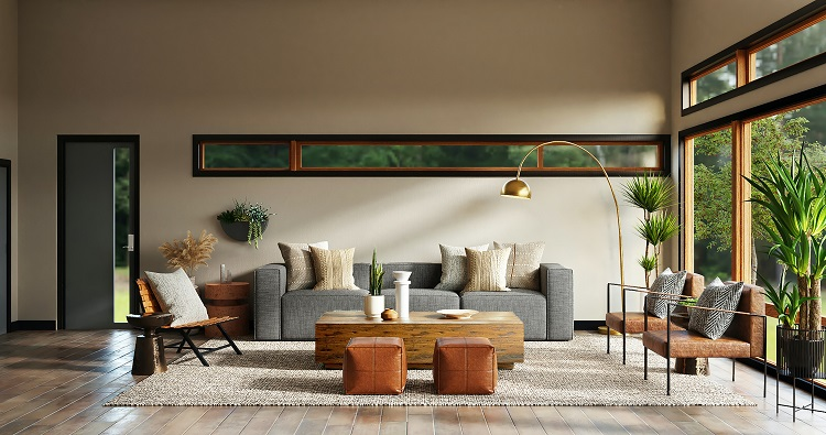 Foto de sala de estar decorada