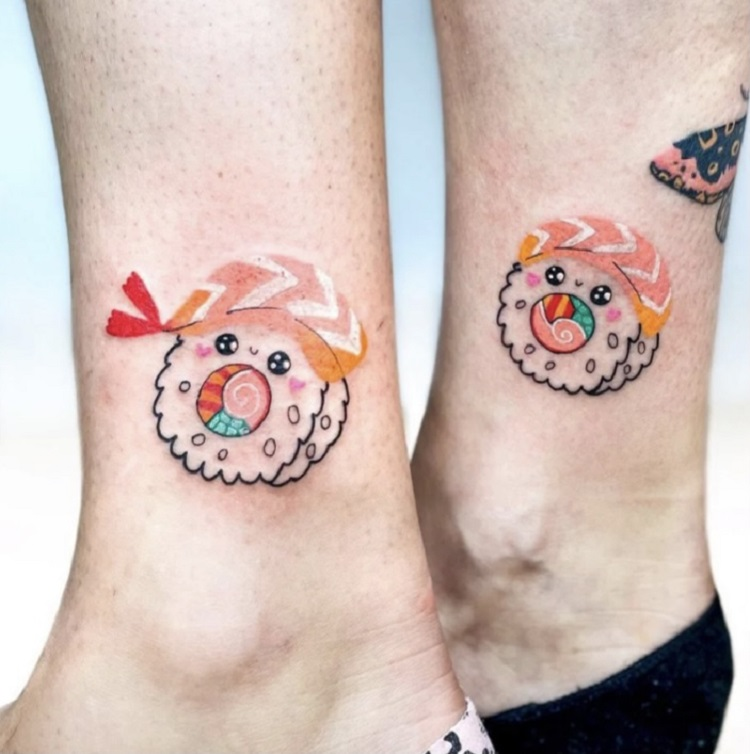 tattoo de sushi