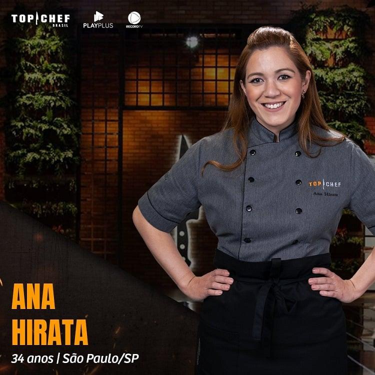 Ana Beatriz Hirata, participante do Top Chef Brasil