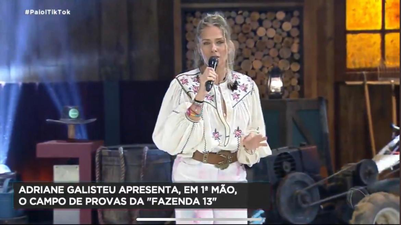 Adriane Galisteu, Inês Brasil, A Fazenda 2021