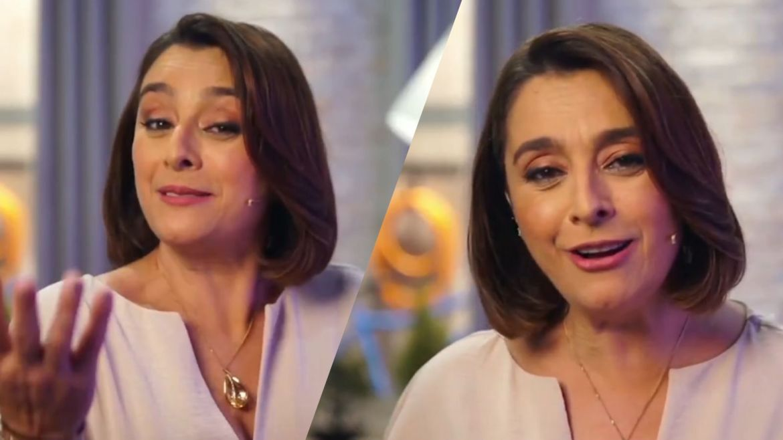 Catia Fonseca revela que sempre quis encontrar com Ana Maria Braga. Fonte: Reprodução Globo