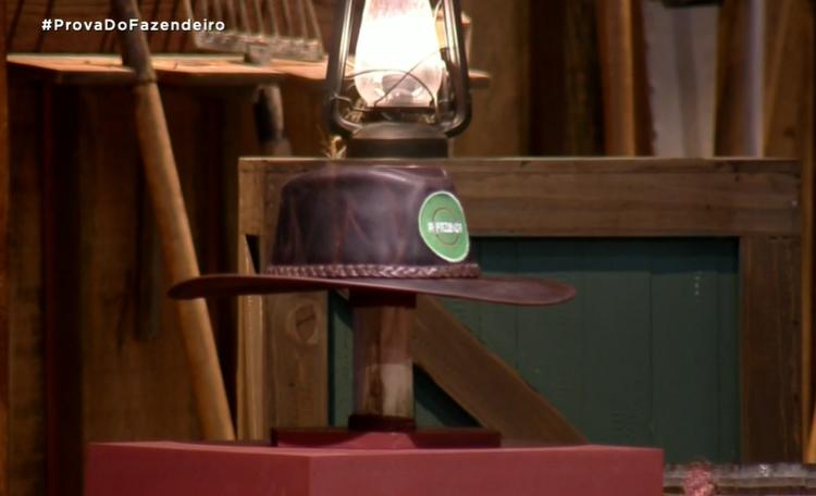 Gui levou o primeiro chapéu da Prova do Fazendeiro de A Fazenda 13, da Record TV