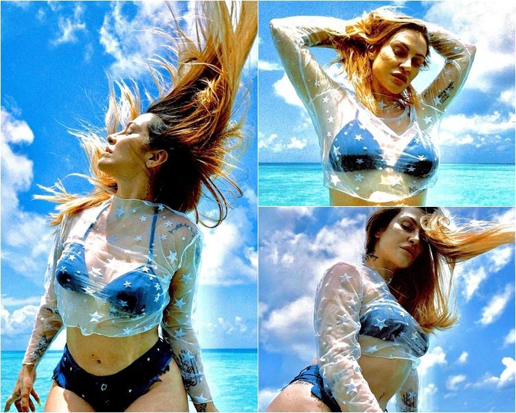 Foto de Cleo Pires - Moda Verão.