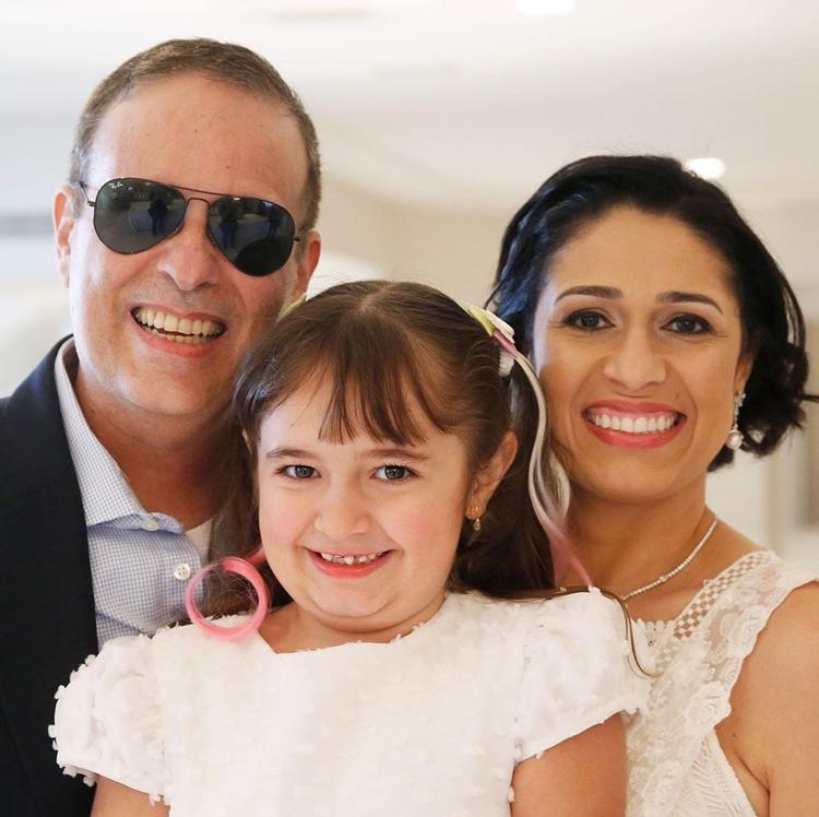 Foto de Eduardo Braga e sua família.