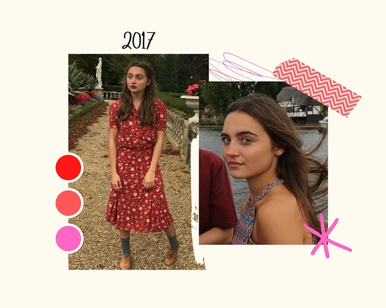 Foto da atriz em 2017.