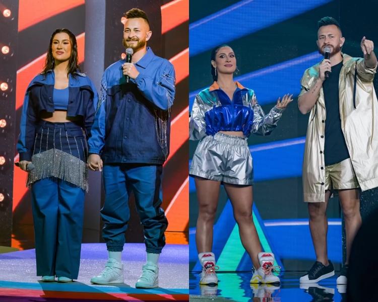 Foto de Bianca Andrade e Fred - Meus Prêmios Nick 2021.